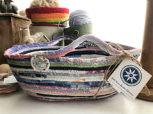 Load image into Gallery viewer, Medium Farmhouse Trug Basket #1483