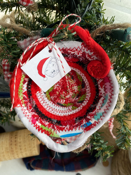 Miniature Egg Basket Ornament/Decoration