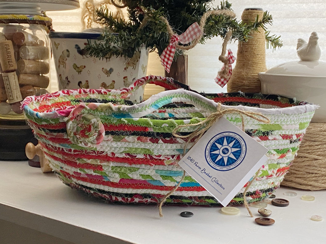 Medium Farmhouse Trug Basket #1560