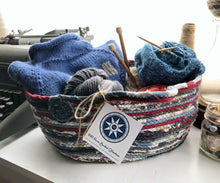 Load image into Gallery viewer, Large Farmhouse Trug Basket #1390