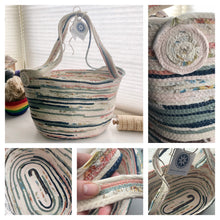 Load image into Gallery viewer, SALE - Jumbo Market Tote Basket #1384