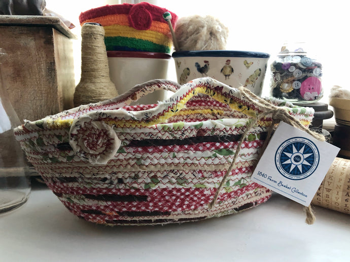 Medium Farmhouse Trug Basket #1526