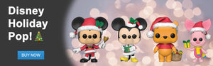 DJK Entertainment Canada | Funko Pop! Disney Holiday: Mickey Mouse, Minnie Mouse, Winnie the Pooh, and Piglet