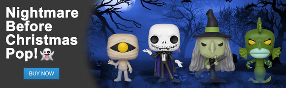 DJK Entertainment Canada | Funko Pop! Nightmare Before Christmas: Witch, Mummy Boy, Undersea Gal, and Vampire Jack