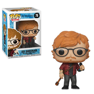 Rocks : Ed Sheeran #76 Funko POP! Vinyl Figure