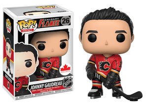 Hockey : Flames - Johnny Gaudreau #26 Exclusive Funko POP! Vinyl Figure
