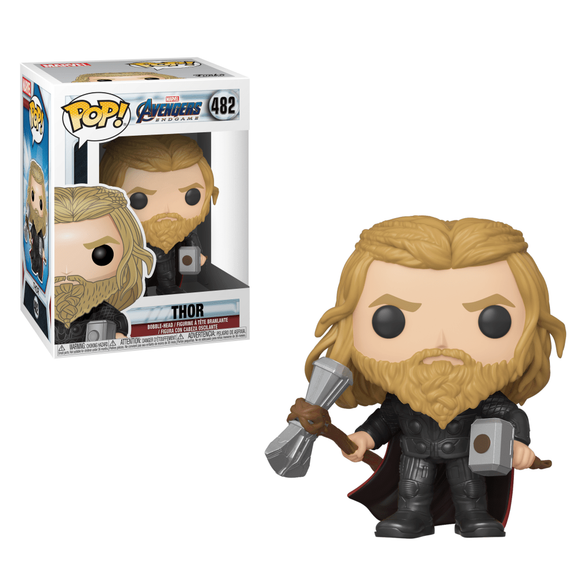 Marvel : Avengers Endgame - Thor with Weapons #482 Exclusive Funko POP! Vinyl Figure