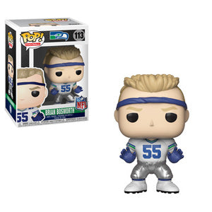 Football : Seahawks - Brian Bosworth #113 Funko POP! Vinyl Figure