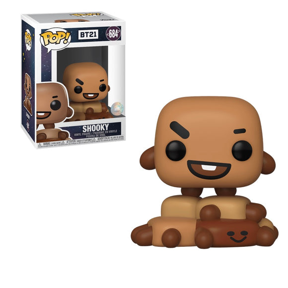 Animation : BT21 - Shooky #684 Funko POP! Vinyl Figure