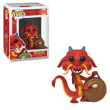 Disney : Mulan - Mushu (with Gong) #630 Funko POP! Vinyl Figure