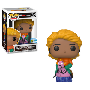 Television : The Big Bang Theory - Raj Koothrappali as Aquaman #832 SDCC Exclusive Funko POP! Vinyl Figure