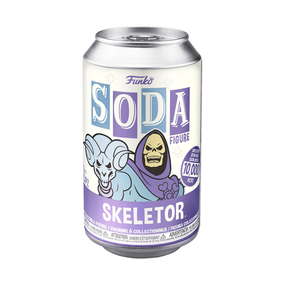 Funko Soda : Masters of the Universe - Skeletor Vinyl Figure