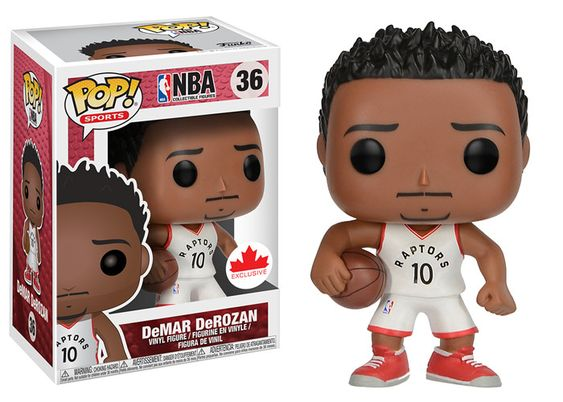 Basketball : Raptors - DeMar DeRozan #36 Exclusive Funko POP! Vinyl Figure