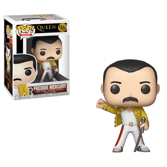 Rocks : Queen - Freddie Mercury Webley 1986 #96 Funko POP! Vinyl Figure