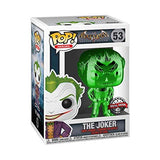 Heroes : Arkham Asylum - The Joker (Green Chrome) #53 Exclusive Funko POP! Vinyl Figure