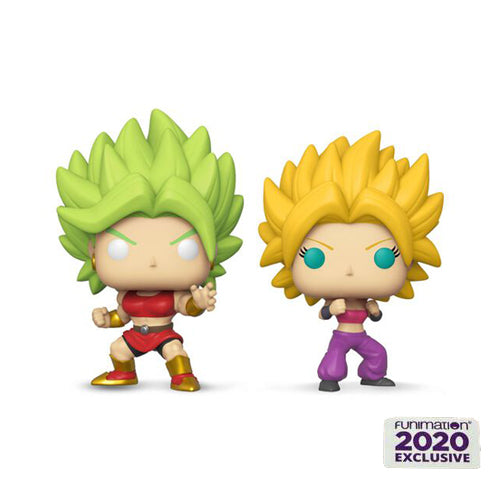 Animation : Dragonball Super - SS Kale & SS Caulifla 2 Pack Funko POP! Vinyl Figure