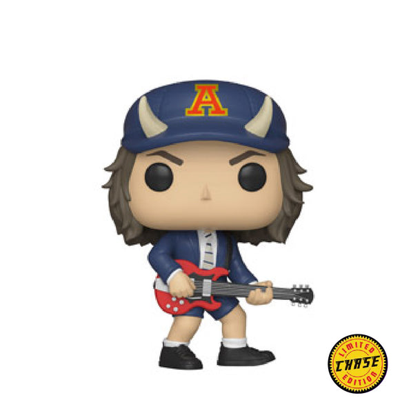 Rocks : ACDC - Angus Young (Devil Hat) #91 Chase Funko POP! Vinyl Figure