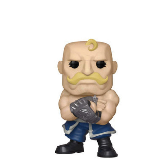 Animation : Fullmetal Alchemist - Alex Armstrong #433 Exclusive Funko POP! Vinyl Figure