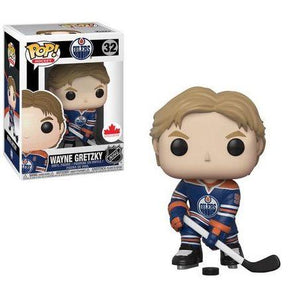 Hockey : Oilers - Wayne Gretzky #32 Exclusive Funko POP! Vinyl Figure
