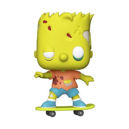 Television : The Simpsons Treehouse of Horror - Zombie Bart #1027 Funko POP! Vinyl Figure