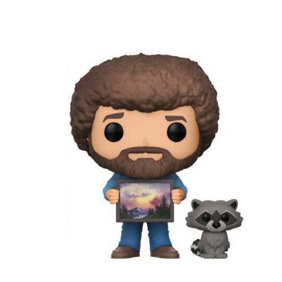 Television : The Joy of Painting - Bob Ross and Raccoon #558 Funko POP! Vinyl Figure