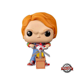 Movies : Child's Play 2 - Chucky (With Buddy & Scissors) #841 Exclusive Funko POP! Vinyl Figure