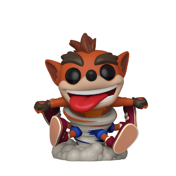 Games : Crash Bandicoot - Crash Bandicoot (Spinning) #532 Funko POP! Vinyl Figure