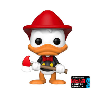 Disney : Donald Duck - Donald Duck (Fire Fighter) #715 NYCC Exclusive Funko POP! Vinyl Figure