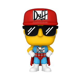 Television : The Simpsons - Duffman #902 Funko POP! Vinyl Figure