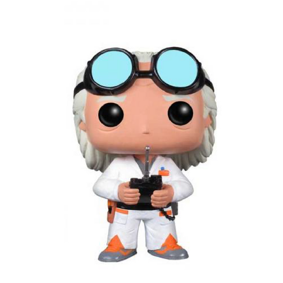 Movies : Back to the Future - Dr. Emmett Brown #62 Funko POP! Vinyl Figure