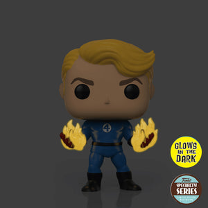 Marvel : Fantastic Four - Human Torch #568 Specialty Series Funko POP! Vinyl Figure