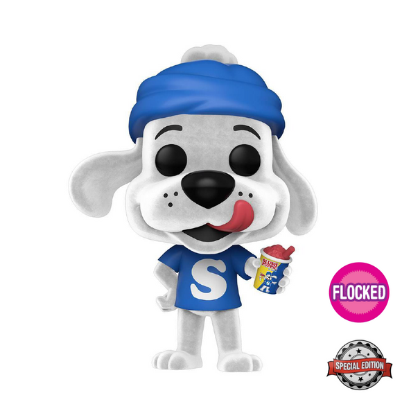 Ad Icons : Slush Puppie - Slush Puppie #106 Flocked Special Edition Funko POP! Vinyl Figure