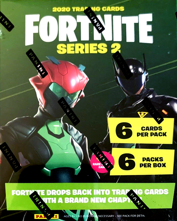 Fortnite : Series 2 Trading Cards Blaster Box Panini 2020