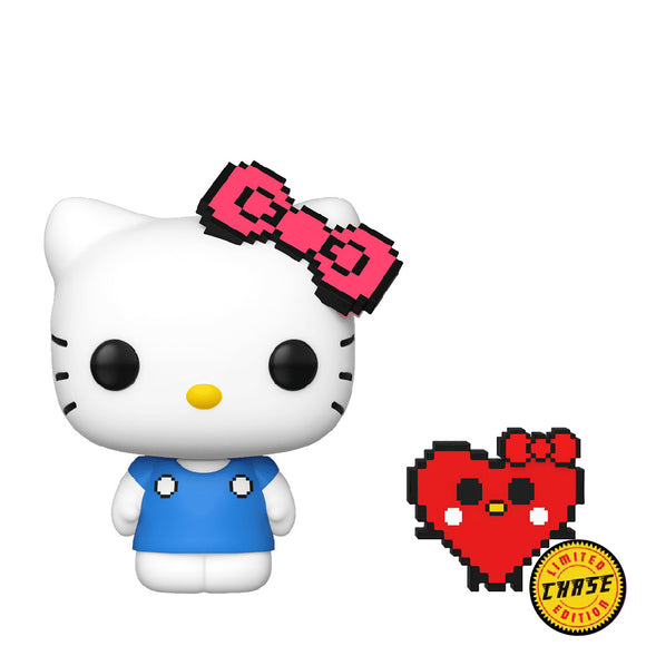 Sanrio : Hello Kitty 45th Anniversary - Hello Kitty (8 bit) #31 Chase Funko POP! Vinyl Figure