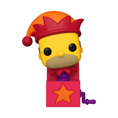 Television : The Simpsons Treehouse of Horror - Homer Jack-in-the-Box Funko POP! Vinyl Figure Preorder