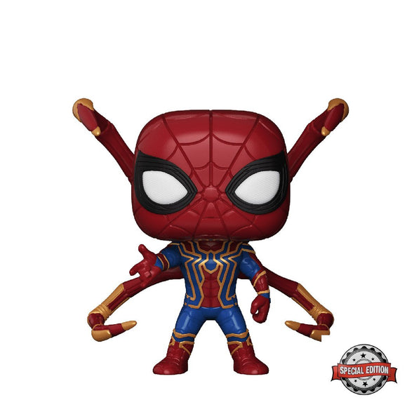 Marvel : Avengers Infinity War - Iron Spider #300 Exclusive Funko POP! Vinyl Figure