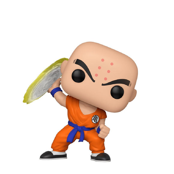 Animation : Dragonball Z - Krillin (with Destructo Disc) #706 Funko POP! Vinyl Figure