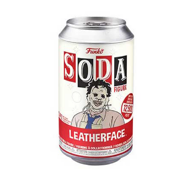 Funko Soda : Leatherface Vinyl Figure