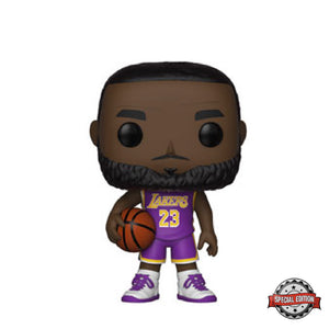 Basketball : Lakers - Lebron James (Purple Jersey) #53 Exclusive Funko POP! Vinyl Figure