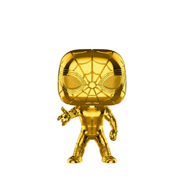 Marvel : Marvel Studios The First Ten Years - Iron Spider (Gold Chrome) #440 Funko POP! Vinyl Figure