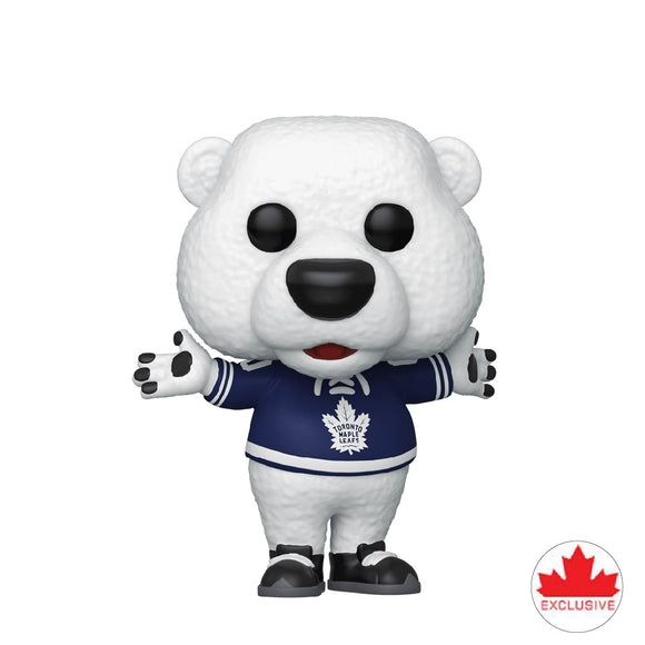 Hockey : NHL Mascots - Maple Leafs Carlton the Bear #06 Exclusive Funko POP! Vinyl Figure