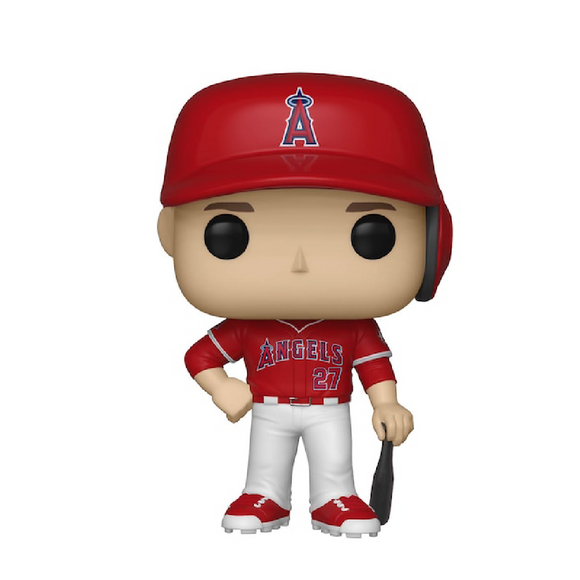 Baseball :  Angels - Mike Trout #08 Funko POP! Vinyl Figure