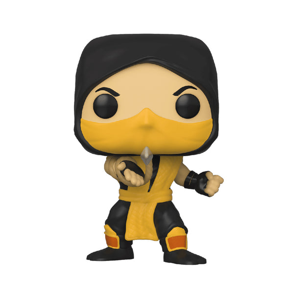 Games : Mortal Kombat - Scorpion Classic #537 Funko POP! Vinyl Figure