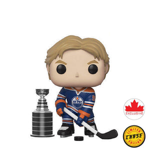 Hockey : Oilers - Wayne Gretzky #32 Exclusive Chase Funko POP! Vinyl Figure