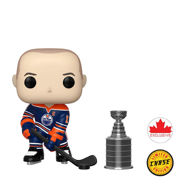 Hockey : Oilers - Mark Messier #47 Chase Funko POP! Vinyl Figure