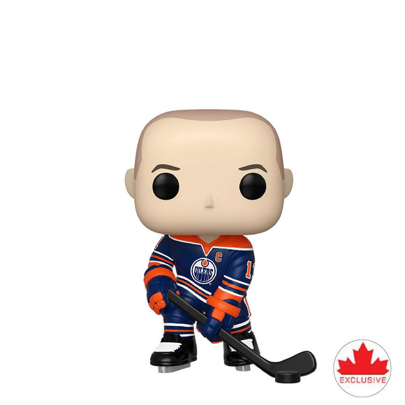 Hockey : Oilers - Mark Messier #47 Exclusive Funko POP! Vinyl Figure