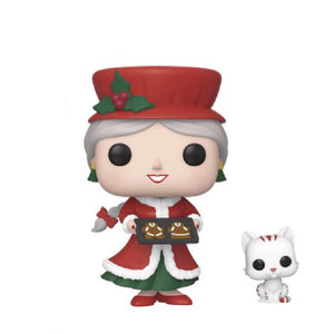 Christmas : Peppermint Lane - Mrs. Claus & Candy Cane #02 Funko POP! Vinyl Figure