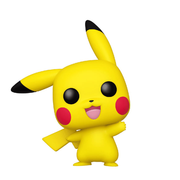 Games : Pokemon - Pikachu (Waving) #553 Funko POP! Vinyl Figure