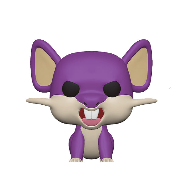 Games : Pokemon - Rattata Funko POP! Vinyl Figure Preorder