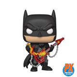 Heroes : Batman - Metal Death Batman (Guitar Solo) #381 PX Exclusive Funko POP! Vinyl Figure